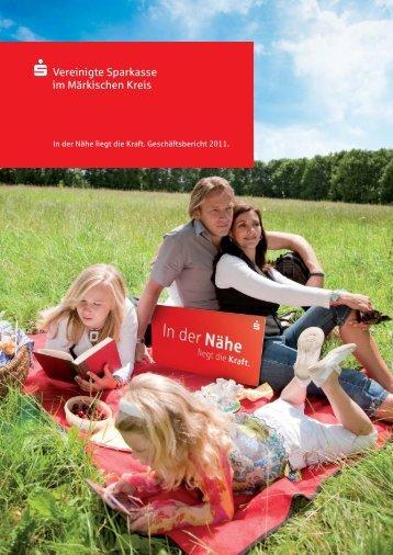 Rückblick 2011 - Vereinigte Sparkasse im Märkischen Kreis
