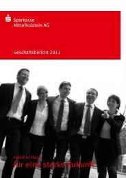 Geschäftsbericht 2011 - Sparkasse Mittelholstein AG