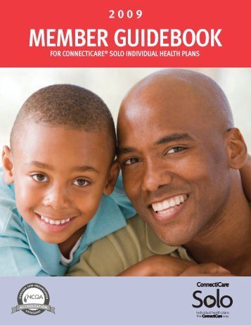 MEMBER GUIDEBOOK - ConnectiCare