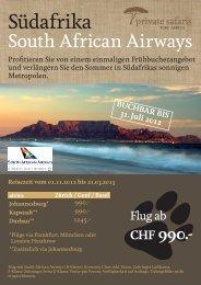 Südafrika - Lamprecht Reisen