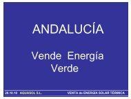20.10.10 AQUASOL SL VENTA de ENERGÍA SOLAR ... - Aperca