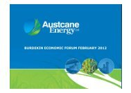 BURDEKIN ECONOMIC FORUM FEBRUARY 2012