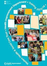 HI Training 13-14 - Western Health and Social Care Trust