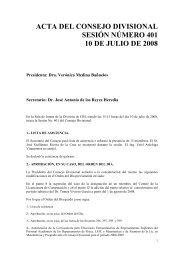 Acta 401 10 de Julio 2008 - CBI - UAM