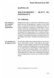 kapitel iii boligmarkedet – skævt og ineffektivt - De Økonomiske Råd