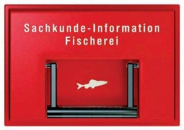 Sachkundeinformation Fischerei