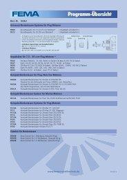 Kompakt-Bordanlasser - FEMA Modelltechnik