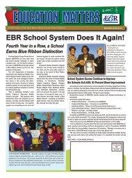 Education Matters - EBRPSS News - East Baton Rouge Parish ...