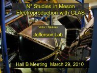 N* Studies in Meson Electroproductionwith CLAS