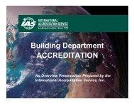 Building Department Accreditation Presentation - The International ...