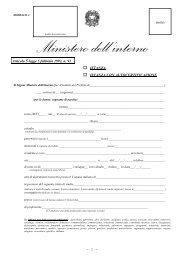 Richiesta cittadinanza - Modello A - Comune di Portogruaro