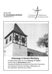 Gemeindeleben - Sankt-antonius-online.de