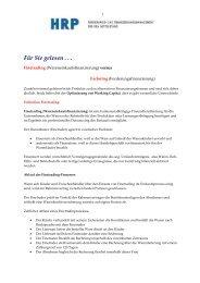 Finetrading versus Factoring   Unterschiede - Heyd, Reims & Partner ...