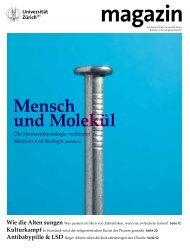 Magazin 2/11 (PDF, 7544 KB) - Kommunikation - Universität Zürich