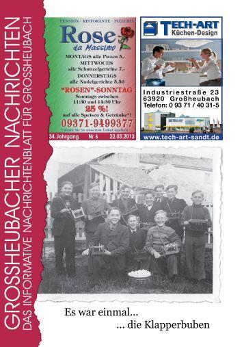 Großheubacher Nachrichten Ausgabe 06-2013 - STOPTEG Print ...