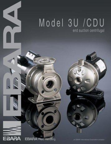 Model 3U /CDU - BBC Pump and Equipment