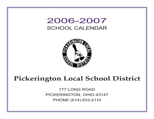 Cumberland County Schools Calendar 2022 23.Plsd Calendar Pickerington Local School District