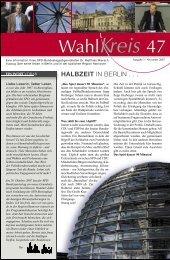 Ausgabe 3 / November 2007 - Dr. Matthias Miersch