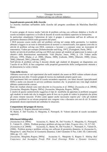Materiale - Seminario Nazionale di Ricerca in Didattica della ...