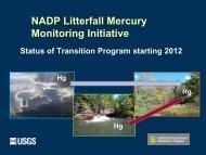 Litterfall Hg Monitoring Option 12-Point Plan - National Atmospheric ...