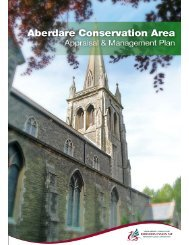 Aberdare Conservation Area Appraisal and Management Plan
