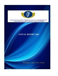 DJELR annual report 2009 - The Department of Justice and Equality