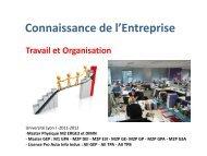 Travail et Organisation - Patrick MONASSIER