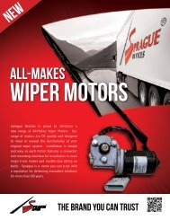 All-Makes Wiper Motors - Commercial Vehicle Group, Inc.