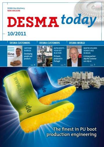 download english PDF - Desma.de