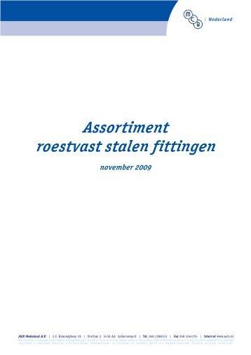 Fittingen - MCB Nederland B.V.