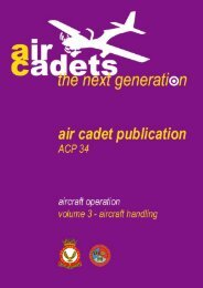 Aircraft Handling - 967 Air Cadets