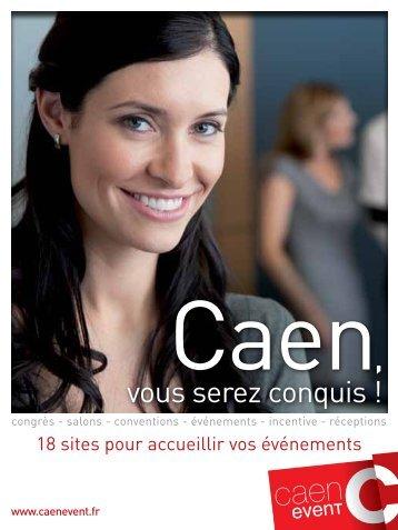Télécharger notre plaquette PDF - Caen Event