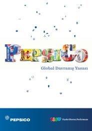 Global Davranış Yasası - PepsiCo