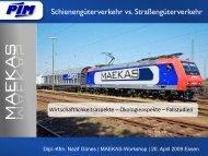Präsentation (PDF) - MAEKAS - Universität Duisburg-Essen