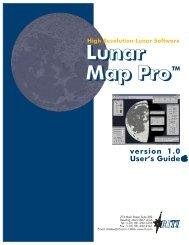 Lunar Map ProTM Lunar Map Pro - Reading Information Technology ...
