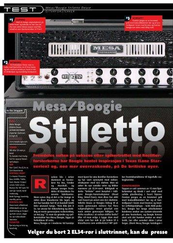 Mesa/Boogie Stiletto Deuce