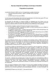 Proposition de périmètre - SUP-Equip