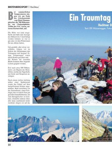 Ein Traumtag am Sustenhorn (S. 22-23) - DAV Reutlingen