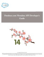 SOAP API Developer's Guide - Salesforce com