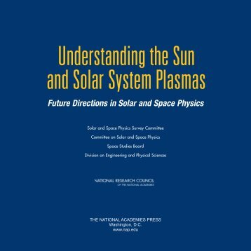 Future Directions in Solar and Space Physics - USGS ...