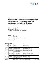 Energie-Scheduling Verfahren - EA