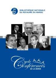 La Bibliothèque Nationale du Royaume du Maroc organise à partir ...
