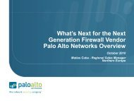 Palo Alto Networks - Stallion