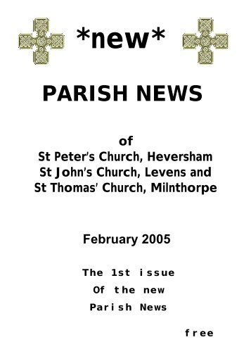 PARISH NEWS - Heversham and Leasgill Community Website
