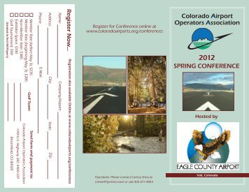 2012 Spring Conference Brochure – Click to view - Colorado Airport ...