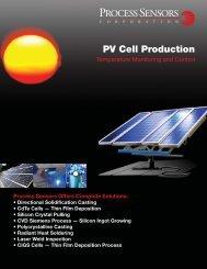 solar cell brochure.indd - Process Sensors