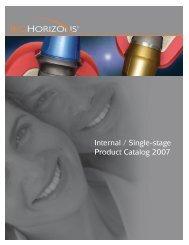 Internal / Single-stage Product Catalog 2007 - BioHorizons