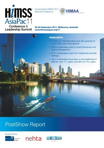 PostShow Report - HIMSS AsiaPac
