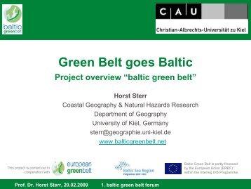 Baltic Green Belt Project Presentation - baltic green belt - Christian ...