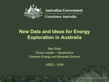 IG1 Seismic Line - Geoscience Australia